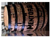 Mentors On Tap barrel logo