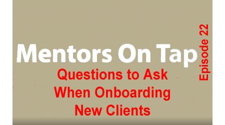 Title Slide for Mentors On Tap, Episode 22