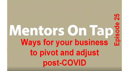 Title Slide for Mentors On Tap, Episode 25